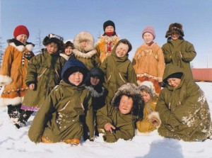 Children of Nutendli, 2010. Photo: Nutendli nomadic community, 2014.