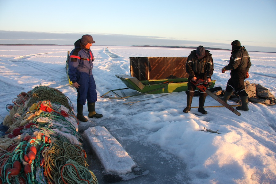karelia fishing