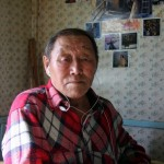 Chukchi knowledge holder Jegor Nutendli, 2010.