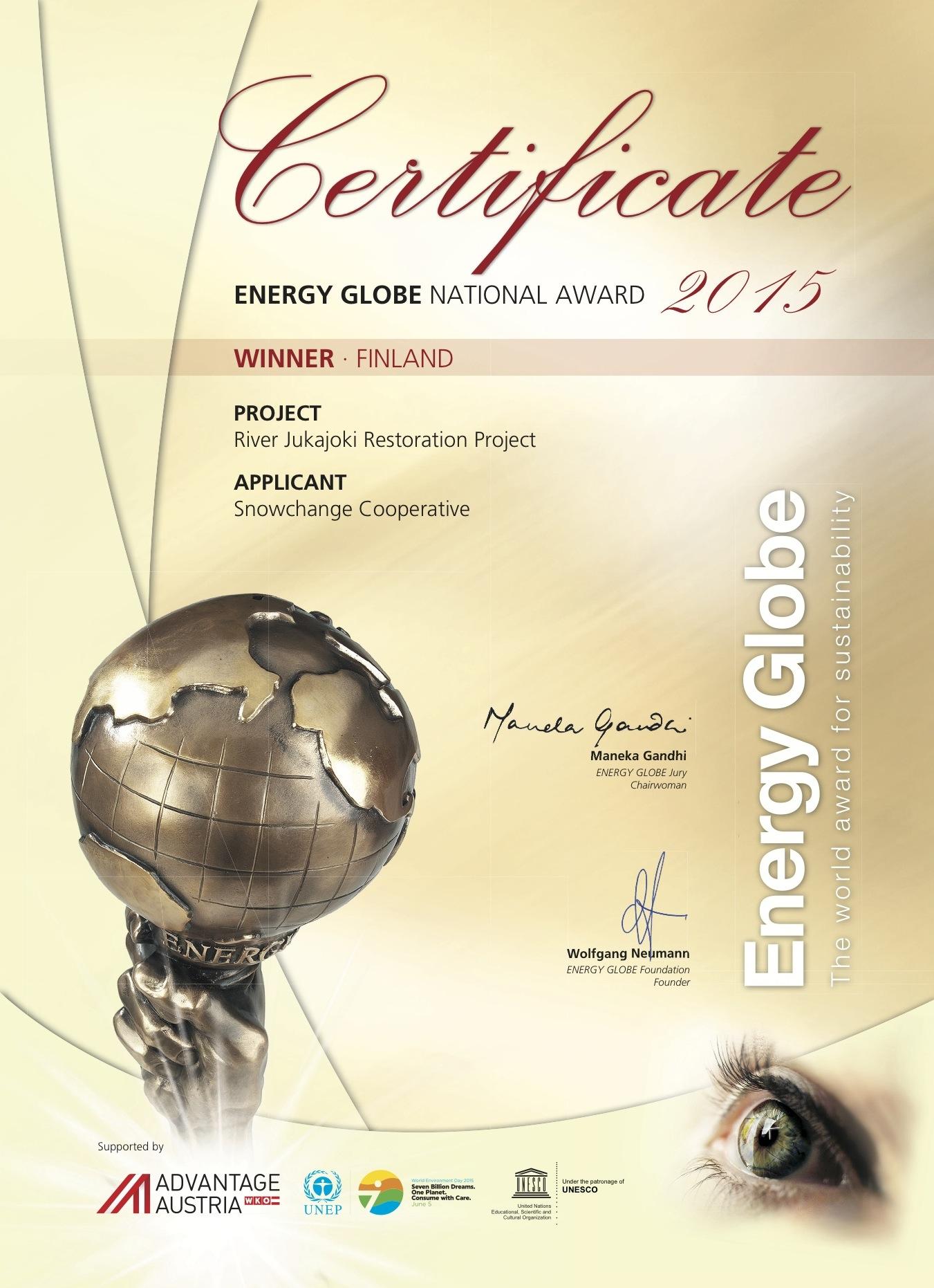 Finland_Certificate_2015