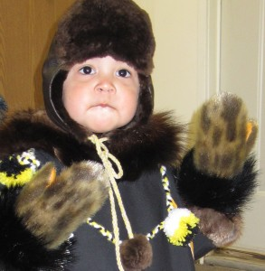 A child in Unalakleet, 2010.