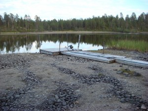 Low waterlevels in the Näätämö basin, 2013