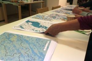 Restoration and catchment area maps.