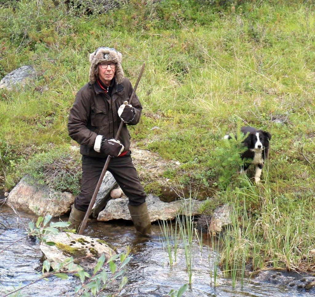 Risto Semenoff, a Skolt Saami river restoration specialist.
