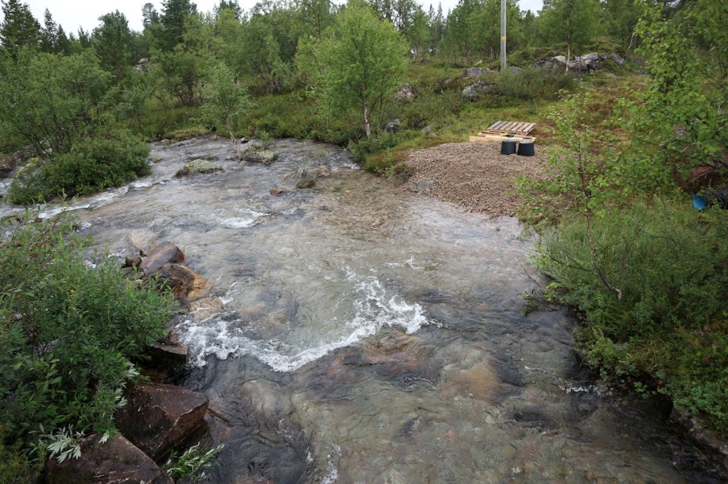 Kirakkakoski almost restored, spawning areas in place and rocks back where they belong.