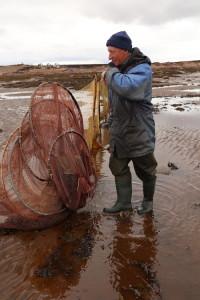 Fisherman from Sosnovka, Murmansk, Russia.