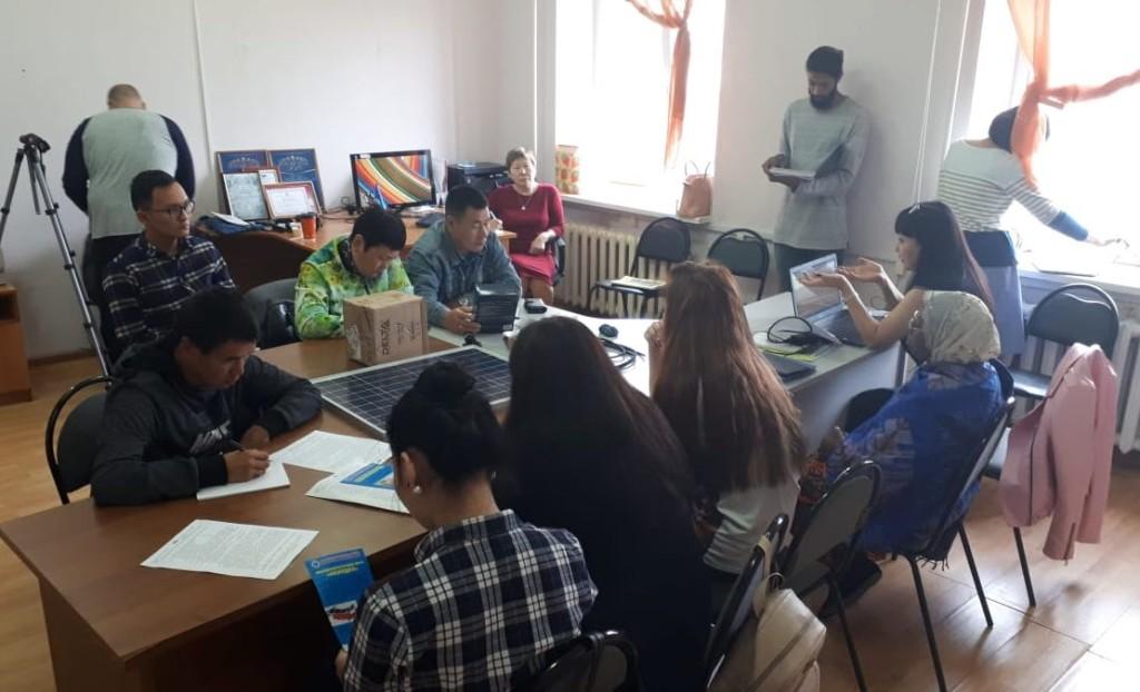 Training under way in Yakutsk.