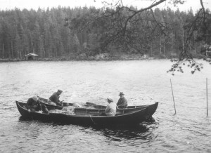 Summer seining in Pirkanmaa, 1900s.