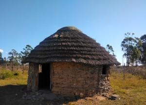 Traditional dwelling in Nibela.