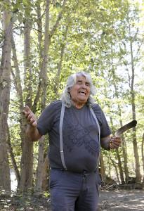 Elder David Rattray shares Tahltan traditions. Photo: Mika Honkalinna
