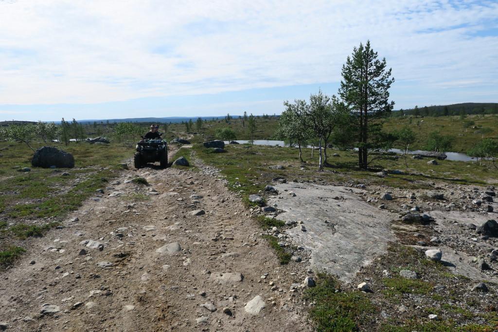 On the way to Näätämö